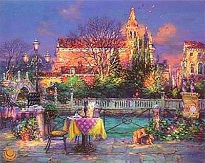Cao Yong Painting - A Pleasant Day by Cao Yong