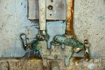 A Plumbers Nightmare Art Print by Paul Ward