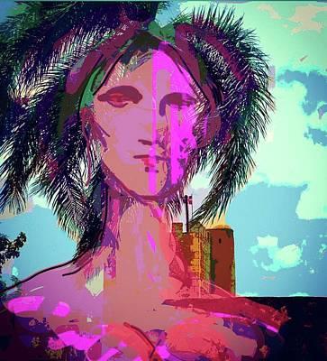A Poem To Anacaona Art Print by Pablo Brito Altamira