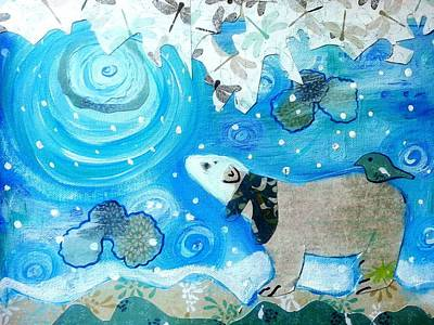 Painting - A Polar Moment by Nikki Dalton