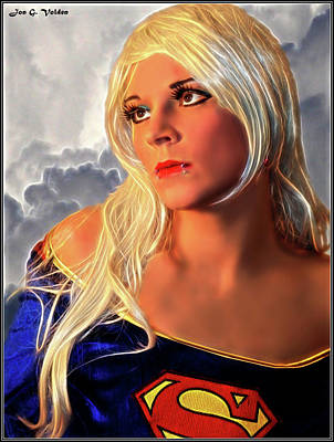 Photograph - A Portrait Of A Super Woman by Jon Volden