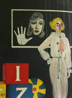 A Portrait Of A Woman Art Print by Georgette Backs