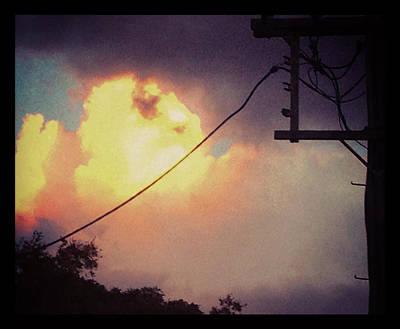 Photograph - A Post Modern Sunset by Ross Carroll