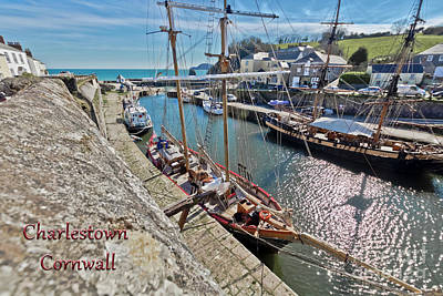 Photograph - A Postcard From Charlestown by Terri Waters