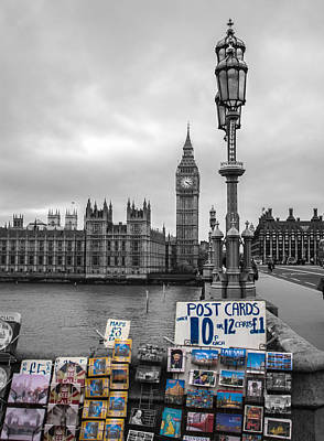 Postcard Photograph - A Postcard From London by Martin Newman