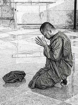 Photograph - A Prayer For Buddha by Ian Gledhill
