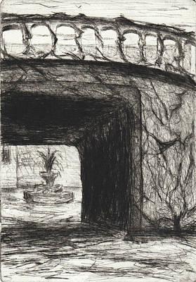 Drawing - A Procuress Place by Erik Paul