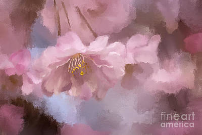 Weeping Cherry Photograph - A Profusion Of Playful Pinks by Lois Bryan