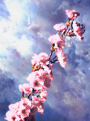 Digital Art - A Promise Of Spring by Patrick Turner