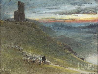 A Prospect Of Edinburgh From The East Art Print by MotionAge Designs