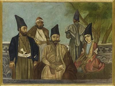 Persia Painting - A Qajar Nobleman by Ali Khan