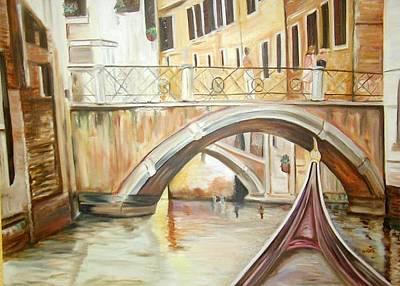 A Quiet Canal Art Print