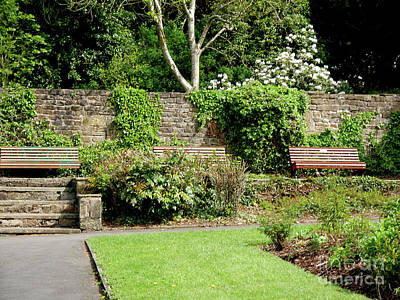 Photograph - A Quiet Corner To Contemplate  In Colne by Brenda Kean