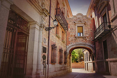 Madrid Photograph - A Quiet Little Corner Of Madrid  by Carol Japp