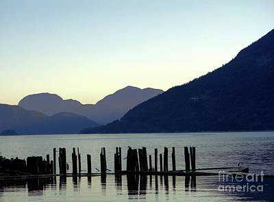 Photograph - A Quiet Nightfall by Victor K
