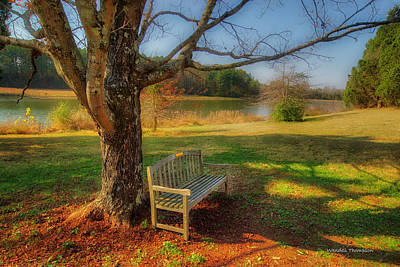 Photograph - A Quiet Resting Place by Wendell Thompson