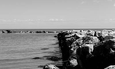 Photograph - A Quiet Seascape by Andrea Mazzocchetti