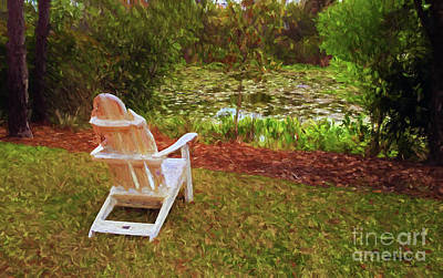 A Quiet Spot To Dream Art Print