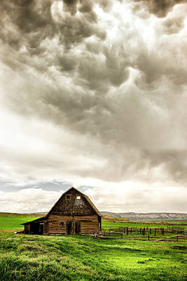 Rustic Barns Photograph - A Quiet Storm by Humboldt Street