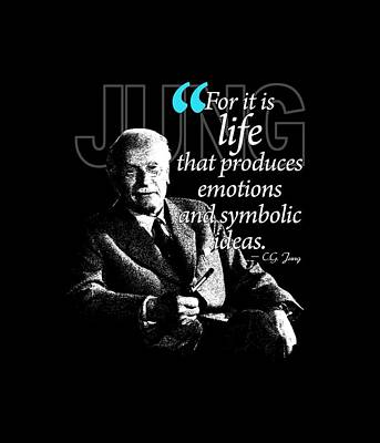 A Quote From Carl Gustav Jung Quote #35 Of 50 Available Print by Garaga Designs