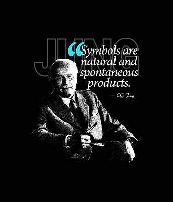 A Quote From Carl Gustav Jung Quote #43 Of 50 Available Art Print by Garaga Designs