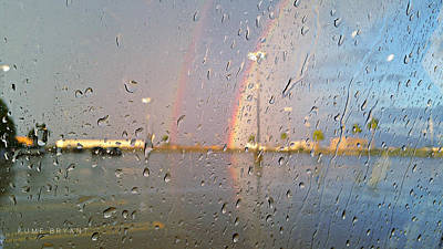 A Summer Evening Landscape Photograph - A Rainbow In My World #3 by Kume Bryant