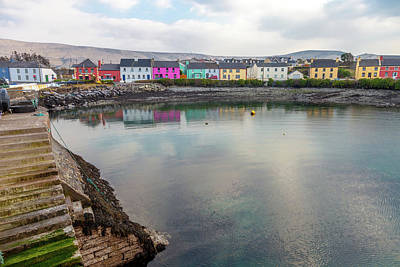 Portmagee Wall Art - Photograph - A Rainbow In Portmagee by W Chris Fooshee