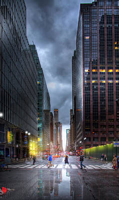 Photograph - A Rainy Day In New York City by Mark Andrew Thomas