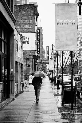 Photograph - A Rainy Day On Main Street In Louisville - D010322 by Daniel Dempster