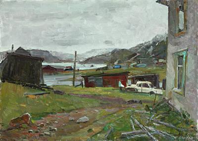 Painting - A Rainy Night by Juliya Zhukova
