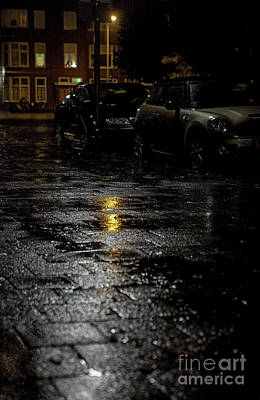 Photograph - A Rainy Night by Patricia Hofmeester