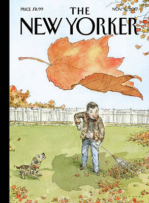 Autumn Drawing - A Rakes Progress by John Cuneo