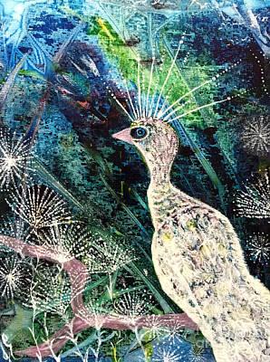 Painting - A Rare Bird by Julie Engelhardt