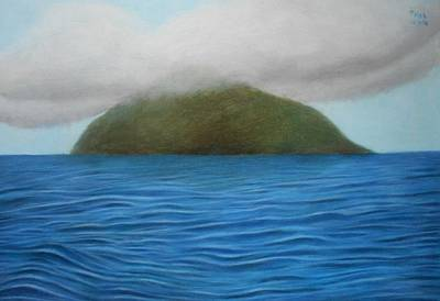 Drawing - Hope- The Island  by Vishvesh Tadsare