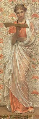 A Reader Art Print by Albert Joseph Moore