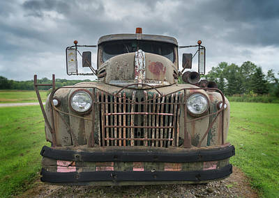 Photograph - A Really Rusty Ford by Guy Whiteley