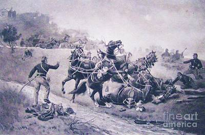 A Recollection Of Gettysburg Art Print by Roberto Prusso