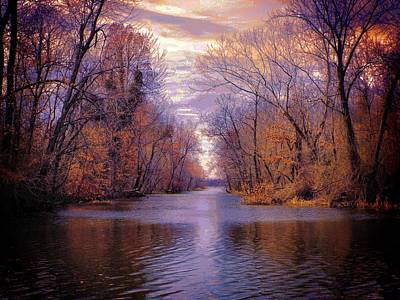 A Reelfoot Bayou Art Print by Julie Dant