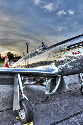 Photograph - A Reflective Mustang by David Collins