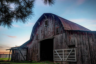 A Relic Of The Past - Old Barn Photography Art Print by Gregory Ballos
