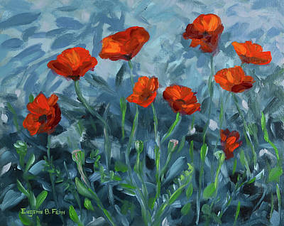 A Remant Of Poppies Original