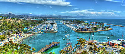 Photograph - A Resting Place 2 Dana Point Harbor Los Angeles Southern California Art  by Reid Callaway