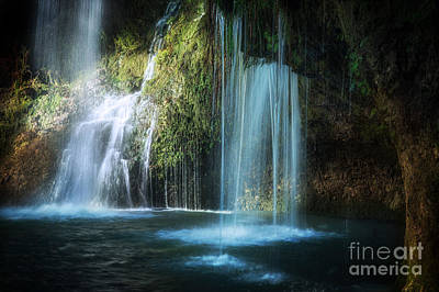 Photograph - A Resting Place At Natural Falls by Tamyra Ayles