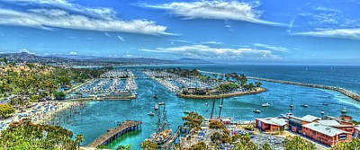 Photograph - A Resting Place Dana Point Harbor Los Angeles Southern California Art  by Reid Callaway