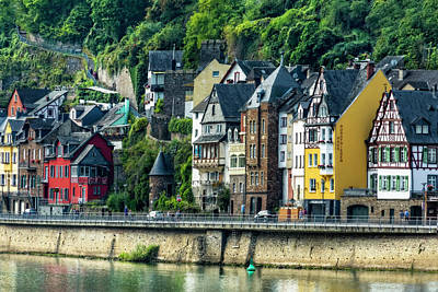 Photograph - A Rhine River Town, Germany by Kay Brewer