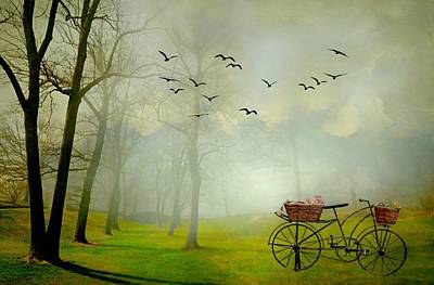 Digital Art - A Ride In The Park by Diana Angstadt