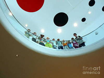 Photograph - A Ring Of Bright Faces by David Bearden