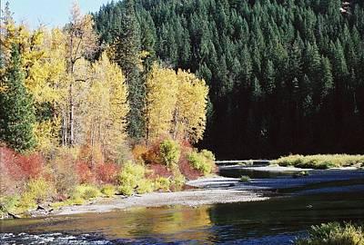 A River Runs Past It Art Print