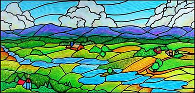 A River Runs Through It Art Print by Jim Harris