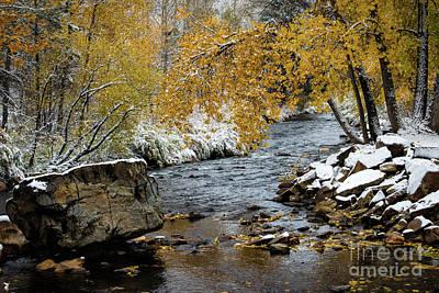 Photograph - A River Runs Thru It by Jon Burch Photography